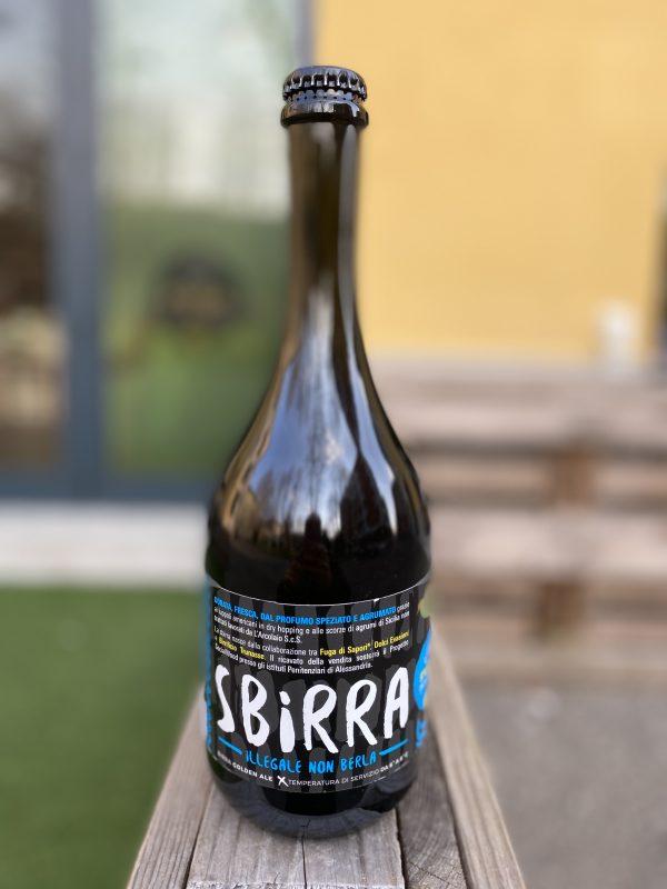Birra artigianale aromatizzata agli agrumi di Sicilia