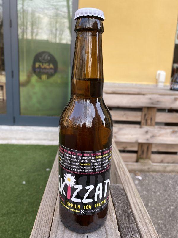 Birra artigianale aromatizzata alla camomilla