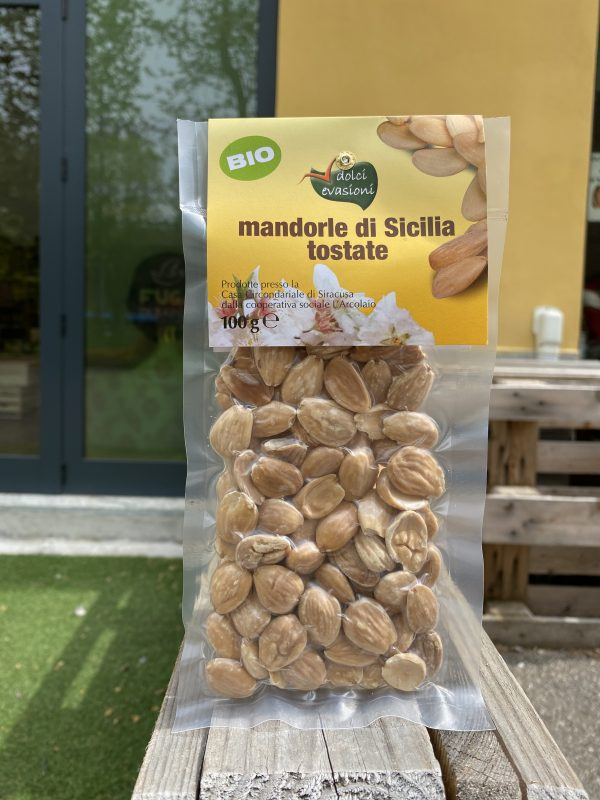 Fuga di Sapori Mandorle di Sicilia tostate Dolci Evasioni