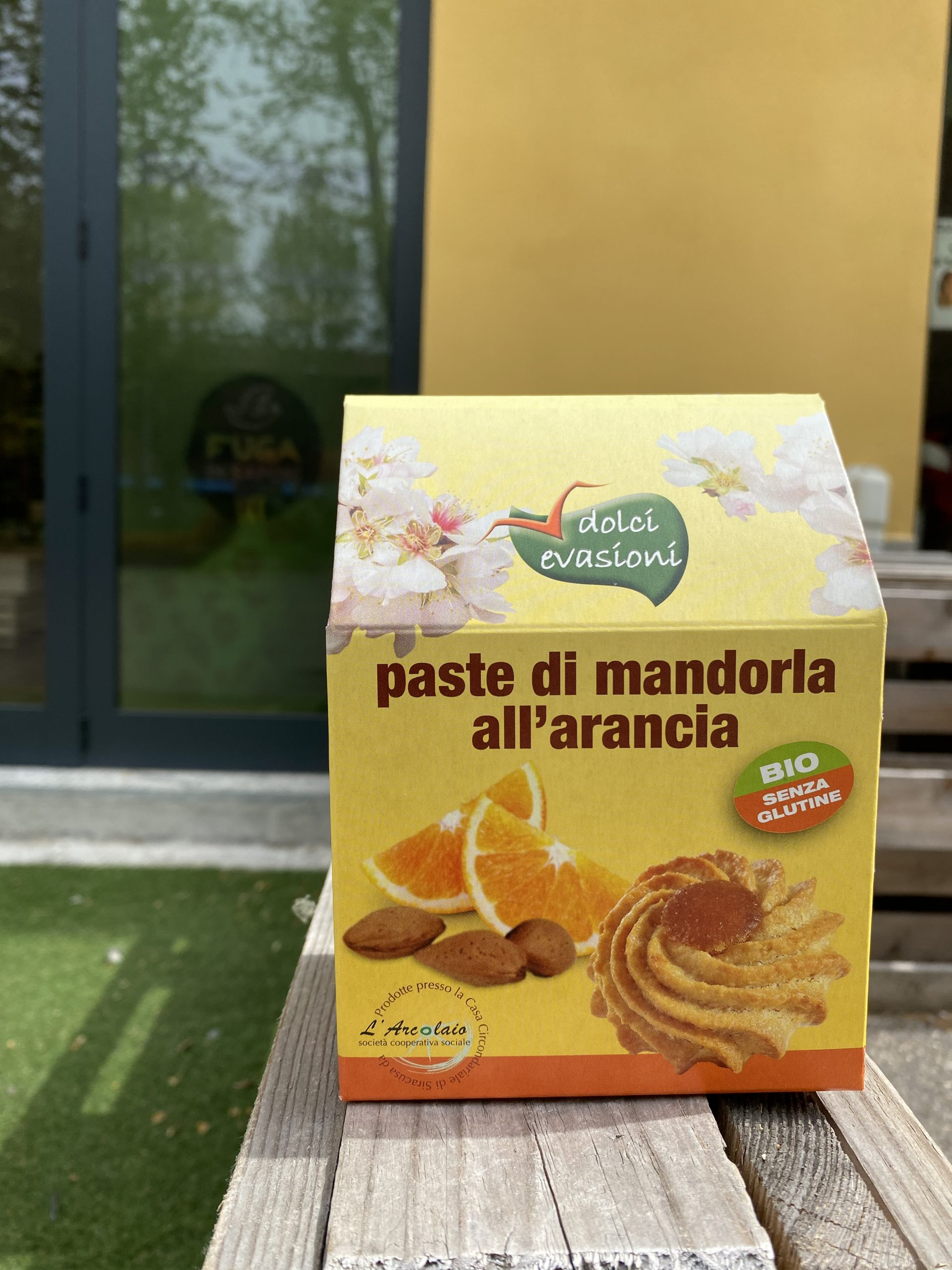 Paste di mandorla all'arancia – Dolci Evasioni