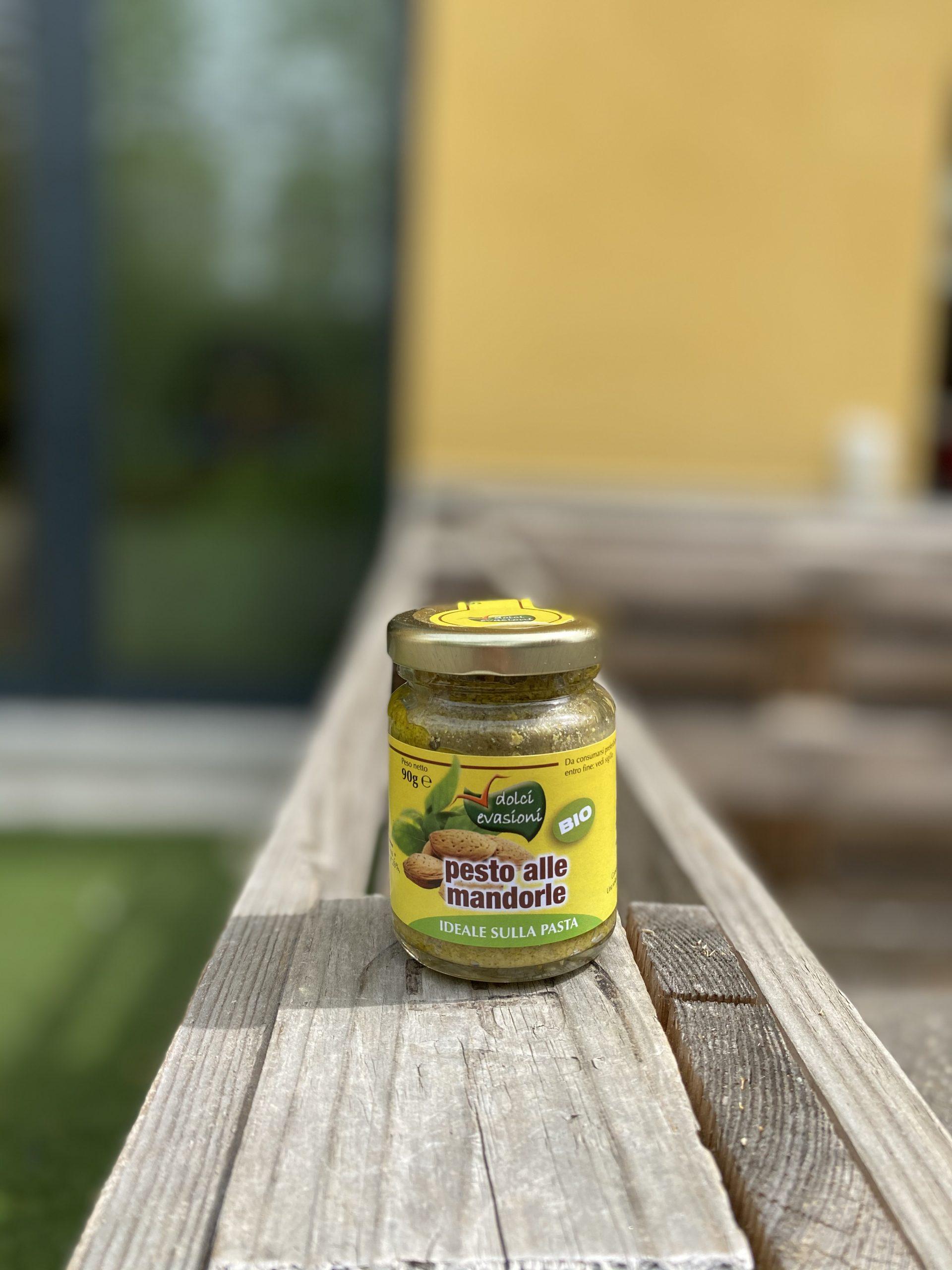 Pesto di Mandorle di Sicilia BIO – Dolci Evasioni