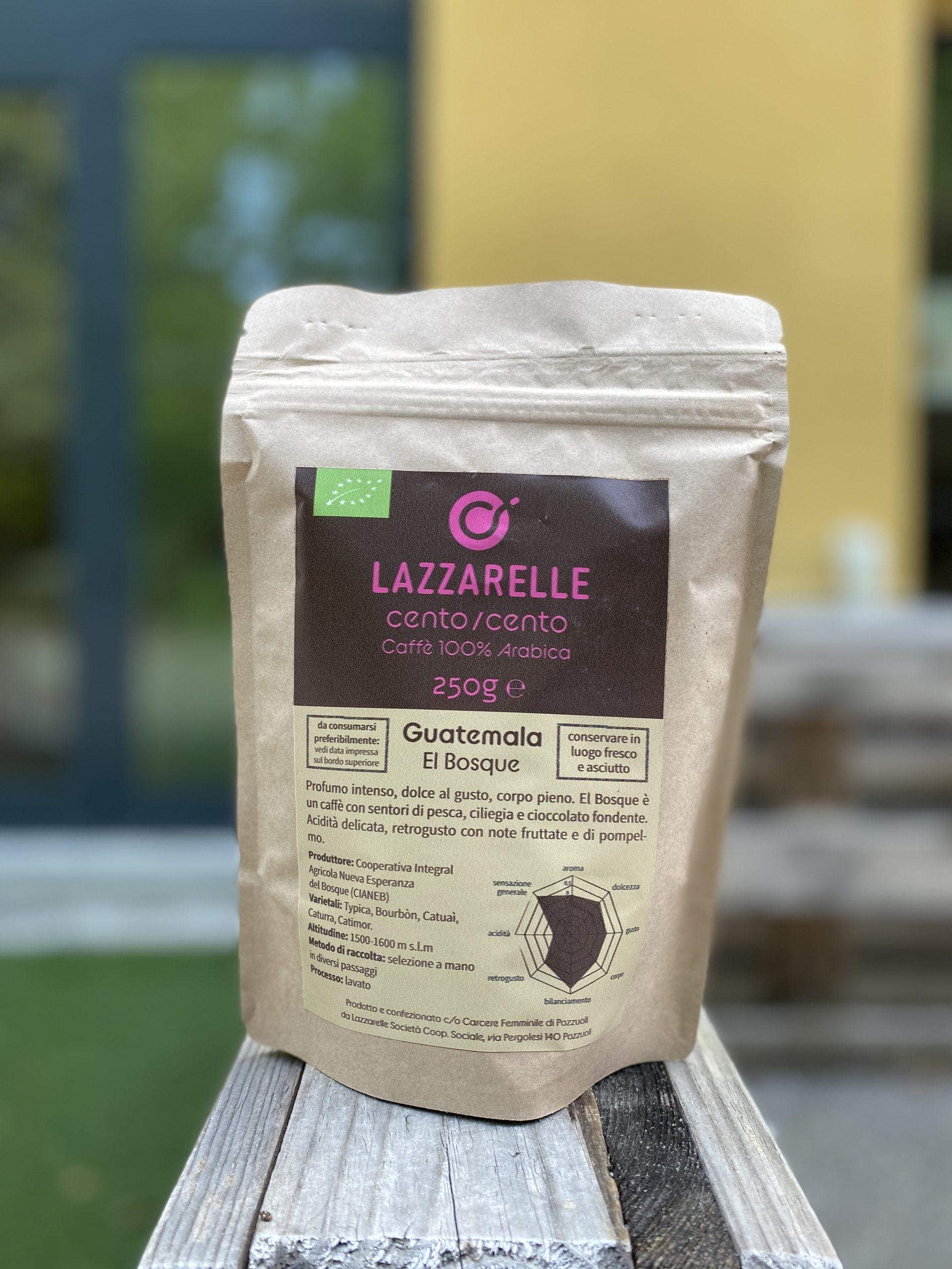 Caffè bio 100% arabica – Lazzarelle