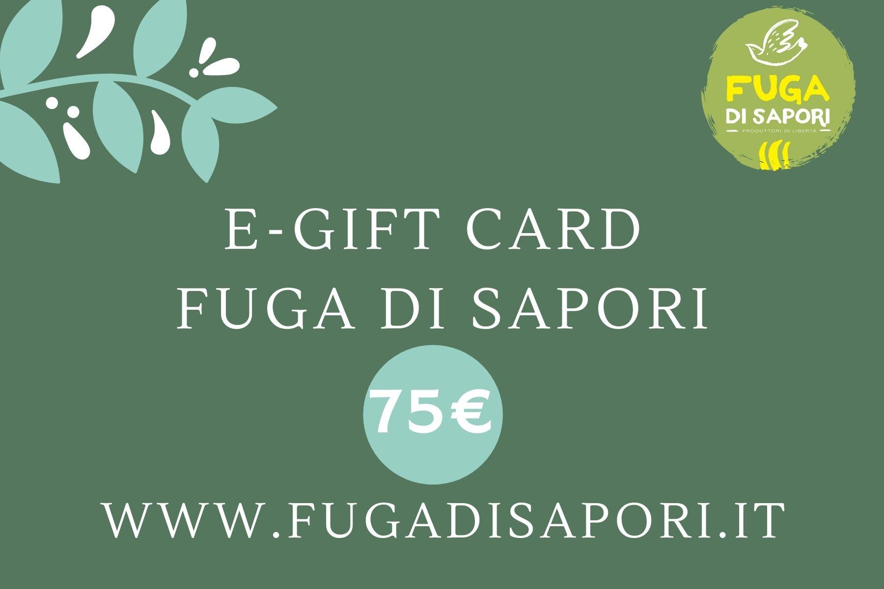 Buono Regalo – 75 euro