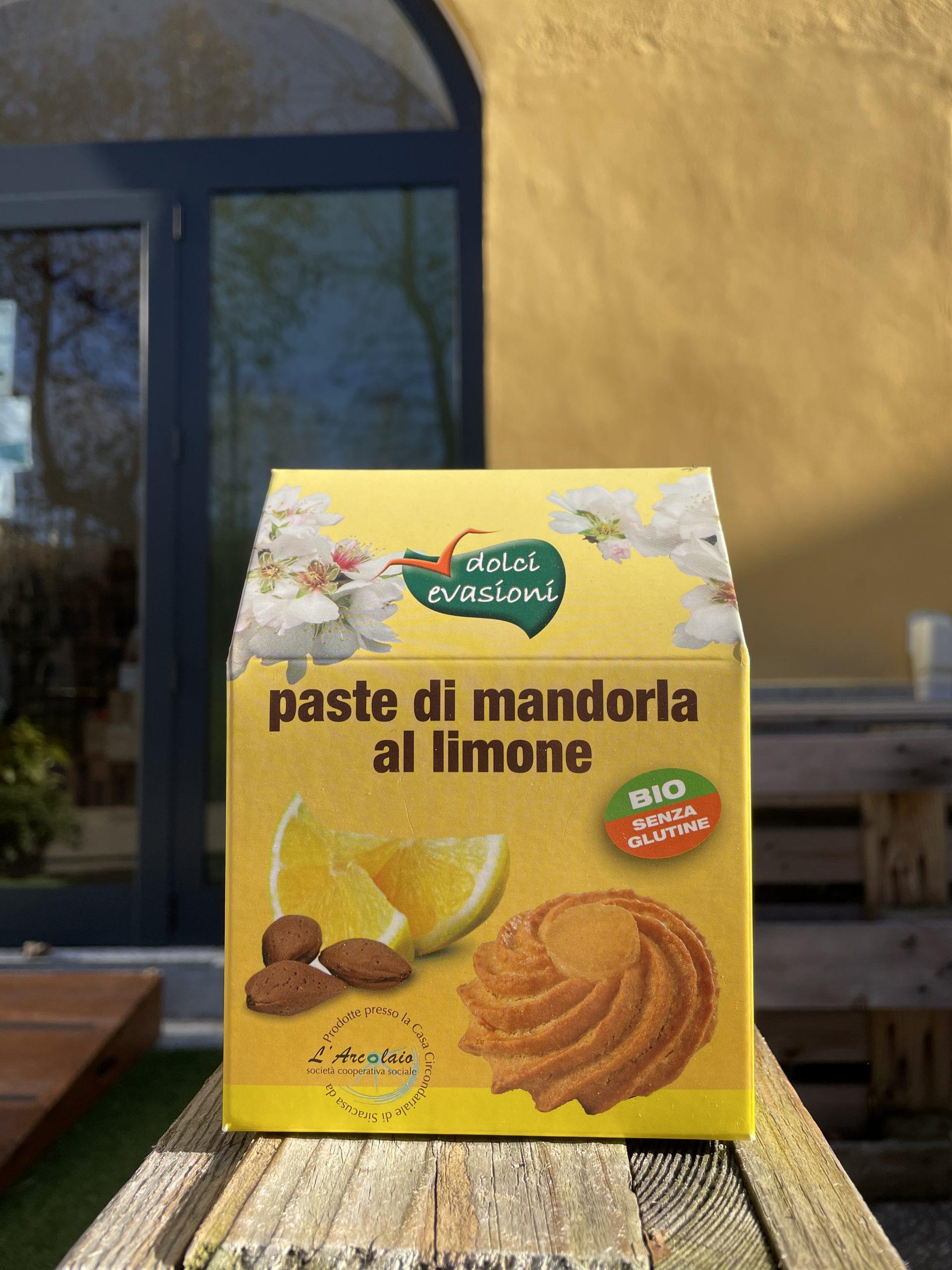 Paste di mandorla al limone – Dolci Evasioni